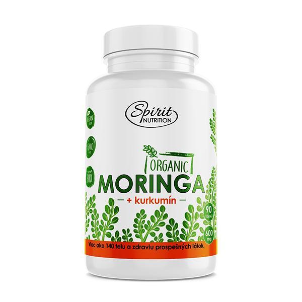 Moringa + kurkumín 90 kapsúl